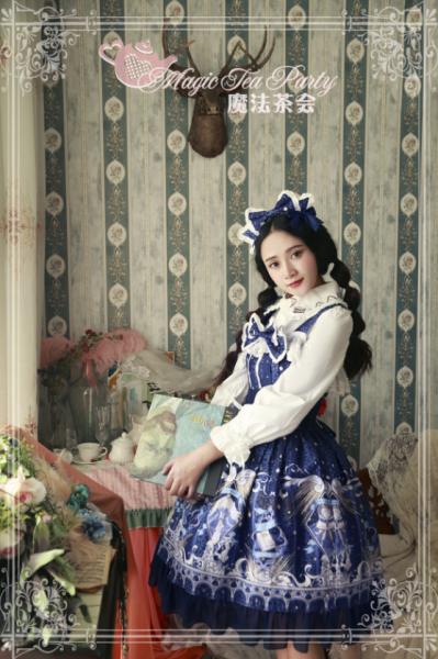 City of the starry sky~Printing Lolita Jsk Dress