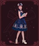 Bedtime book~Printing Sweet Lolita JSK Dress