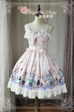 Ice cream party~Printing Sweet Lolita JSK Dress