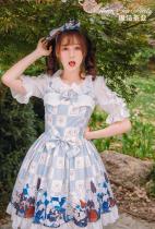 War of Thrones~Printing Sweet Lolita Jsk dress Version Ⅰ