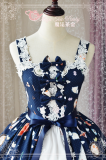 Sunny days and delicious food~Printing Sweet Lolita Jsk Dress Version Ⅱ
