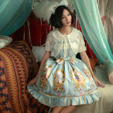 Alice~Printing Daliy Princess Lolita Jsk dress