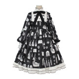 Alice girl~Duck Printing Lolita OP Dress Pre-order