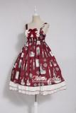 Alice girl~Duck Printing Lolita JSK Dress Pre-order