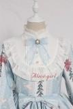 Alice girl~Caged dream Printing Long Sleeve Lolita OP Dress