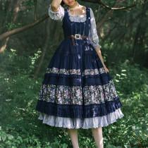 JS-LOLITA*Jenny and Mentna Tea*lolita Jsk Dress
