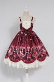 Alice girl~Caged dream Printing Lolita JSK Dress