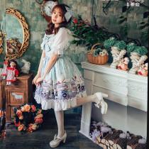 Ice cream party~Printing Sweet Lolita JSK Dress