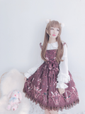 Vintage Luxuriant Gem Printing Lolita JSK Dress Pre-order