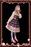 Strawberry thousand layer~Printing Lolita JSK Dress