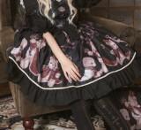 Coronation bear~Printing Lolita JSK Dress Verison Ⅰ
