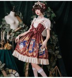 The heart of a mech~Printing Lolita JSK Dress