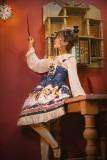 Astrology bear~Printing Lolita JSK Dress