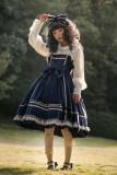 Honey silk sugar~Pure color velvet Lolita JSK Dress