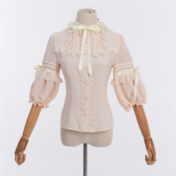 Coronation bear~Chiffon Lolita Blouse