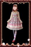 Strawberry thousand layer~Printing Lolita JSK Dress