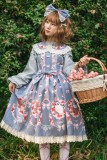 Owl ~Printing Lolita JSK Dress