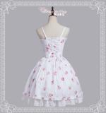 Miscellaneous Dress~Printing Daily Lolita Jsk Dress