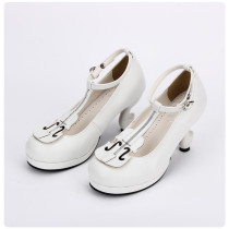 【 Angelic imprint】Violin decoration Lolita shoe