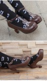 【 Angelic imprint】Violin decoration Lolita shoe