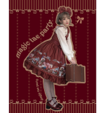Handmade girl's hat shop~Printing Daily Lolita Jsk Dress