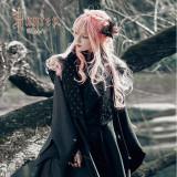 Hunter~Black Lolita Coat/Cape