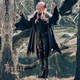Hunter~Black Lolita Coat/Cape