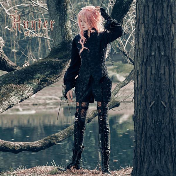 Hunter~Black Lolita Short Pants