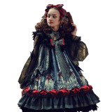 Mirror Mirror~Black Lolita Doll Dress