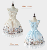 The Afternoon of a Faun~Printing Daily Lolita Jsk Dress VreiosnⅠ