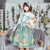 The little squirrel~Printed Lolita Jsk Dress