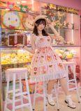 pocky~Print Sweet Lolita Jsk Dress