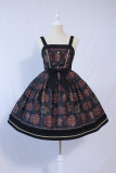 Carroll seal college~Printed Lolita Jsk Dress