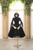 Miss lolo ~Lace bow and Bandage Sweet Lolita Jsk Dress ~Pre-order Closed