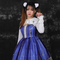 Three Musketeers ~Print Lolita Jsk Dress