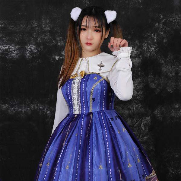 Three Musketeers ~Print Lolita Jsk Dress