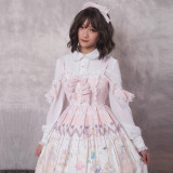 Magic tea party~Print Lolita Jsk Dress