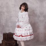 Miss coffee cup animals ~Print Lolita Jsk Dress
