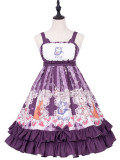 Miss Animal's Flower Grove Party ~Print Lolita Jsk Dress
