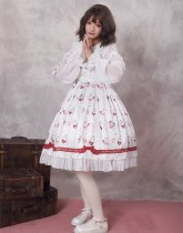 Miss coffee cup animals ~Print Lolita Jsk Dress