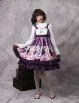 Miss Animal's Flower Grove Party ~Print Lolita Jsk Dress