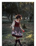 Snow White~Vintage Jumper skirt for spring and autumn