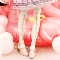【MuFish】Roes Crown 80D Velvet Lolita Tights