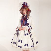 The dolly girl~Gorgeous Lolita OP Dress with Long Sleeve