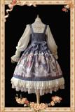 The angel choir~Print 4 Color Lolita Jumper Skirt