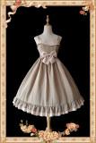 Lace~Elegant and refreshing Lolita Jumper skirt