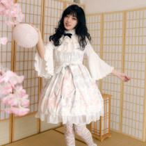 Candlelight whisper ~Print Lolita JSK Dress