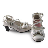 Custom Lovely Lolita Princess Shoes with Big Bow