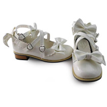 Custom Sweet Lolita shoes with low heels
