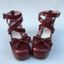LOLITA Custom High heel Princess Bow Shoes